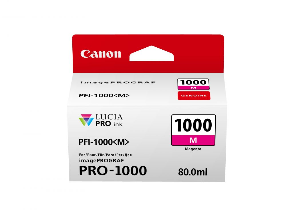 Canon PFI-1000M magenta tintapatron