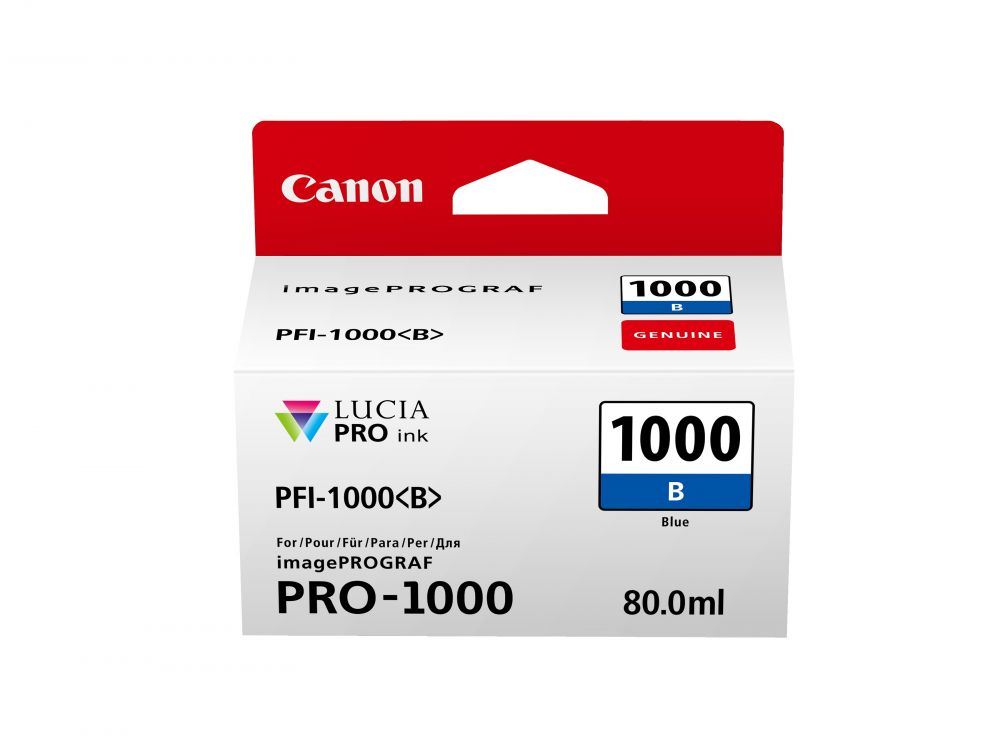 Canon PFI-1000B kék tintapatron