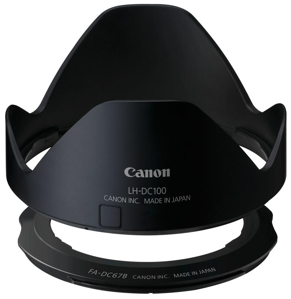 Canon LH-DC100 napellenző + Canon FA-DC67B szűrőadapter