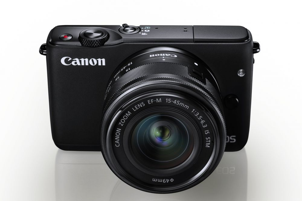 Canon EOS M10 + EF-M 15-45mm / 3.5-6.3 IS STM (fekete)