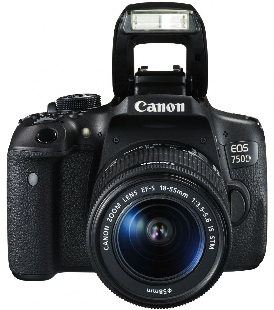 Canon EOS 750D + EF-S 18-55mm / 3.5-5.6 IS STM (3 év garanciával**)