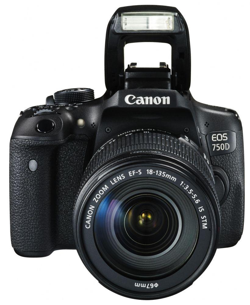 Canon EOS 750D + EF-S 18-135mm / 3.5-5.6 IS STM (3 év garanciával**)