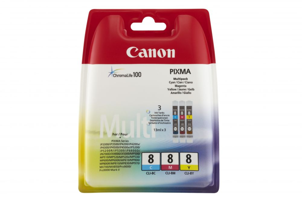 Canon CLI-8 C/M/Y multipack