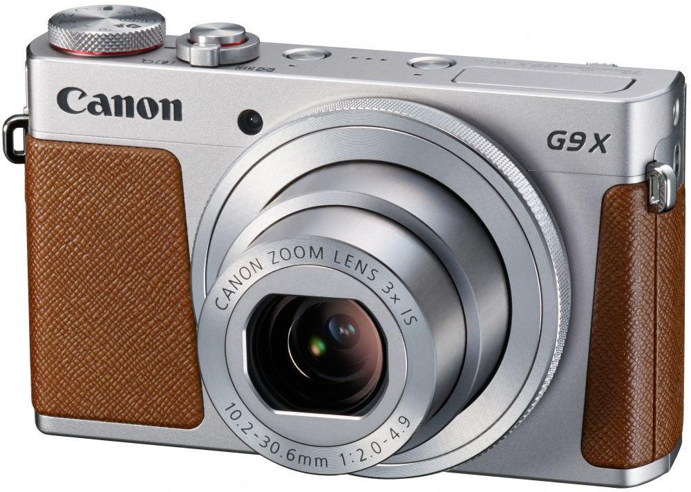 Canon PowerShot G9x (ezüst)