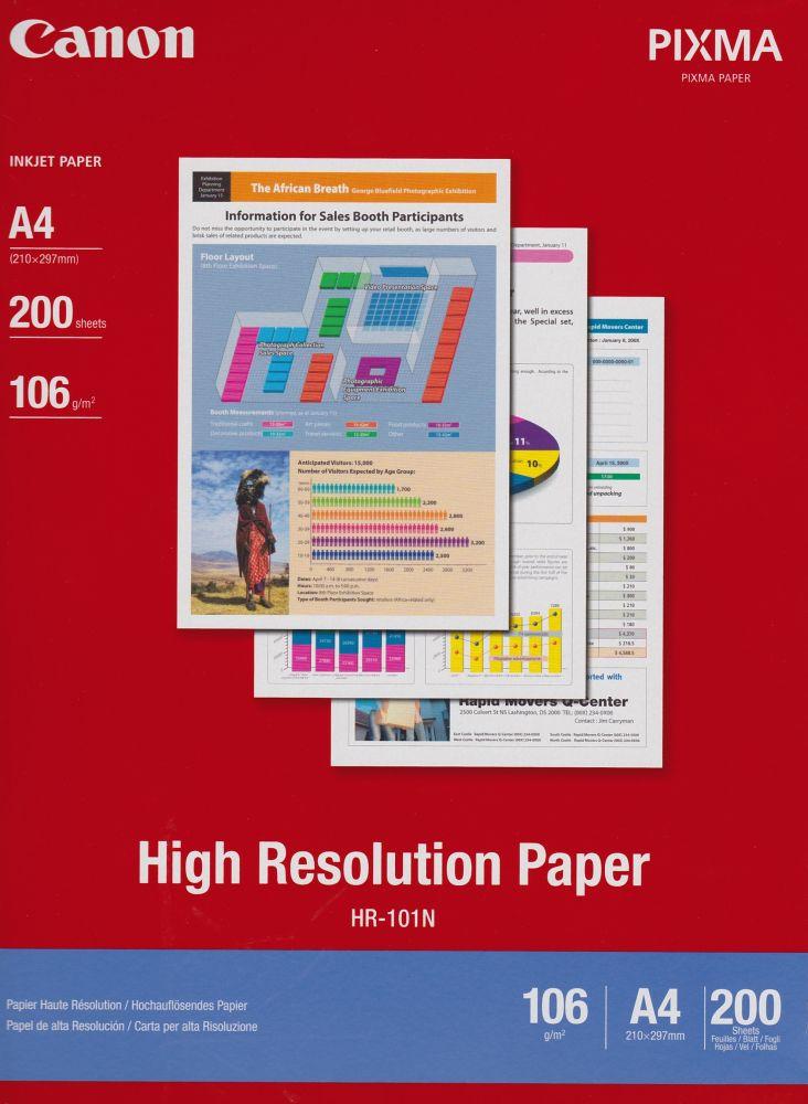Canon HR-101 High Resolution papír A4, 200ív/csomag