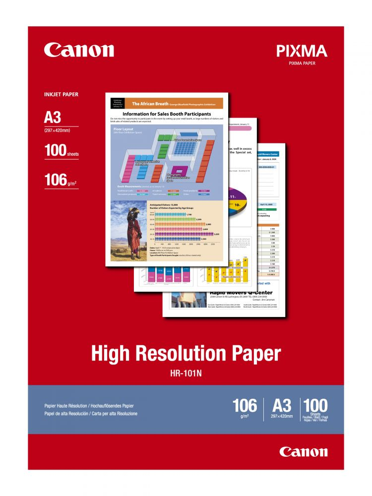 Canon High Resolution Paper HR-101N (A3) (100 lap)