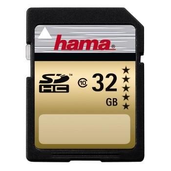HAMA SDHC 32GB GOLD (class 10)