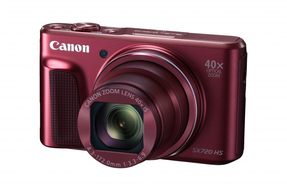 Canon PowerShot SX720HS (2 színben) (piros)