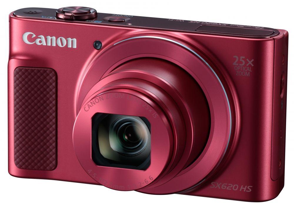 Canon PowerShot SX620HS - piros színű