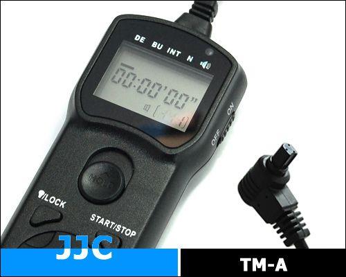 JJC TM-A multifunkciós vezetékes távkioldó (for Canon)