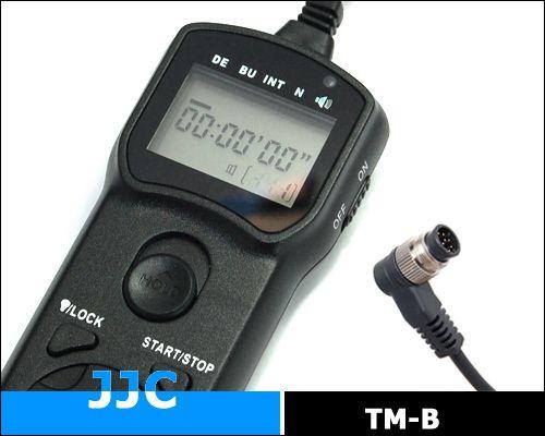 JJC TM-B multifunkciós vezetékes távkioldó (for Nikon)