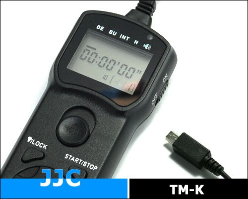 JJC TM-K multifunkciós vezetékes távkioldó (for Fujifilm)