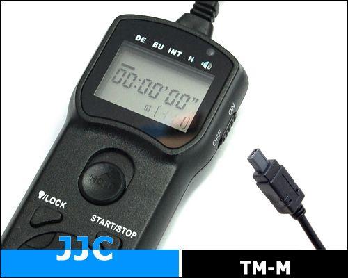 JJC TM-M multifunkciós vezetékes távkioldó (for Nikon)