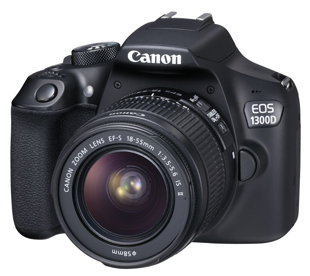 Canon EOS 1300D + EF-S 18–55mm / 3.5–5.6 IS II (1+2 év Garancia*)