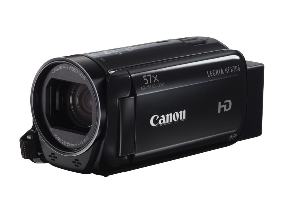 Canon Legria HF R706 (fekete)