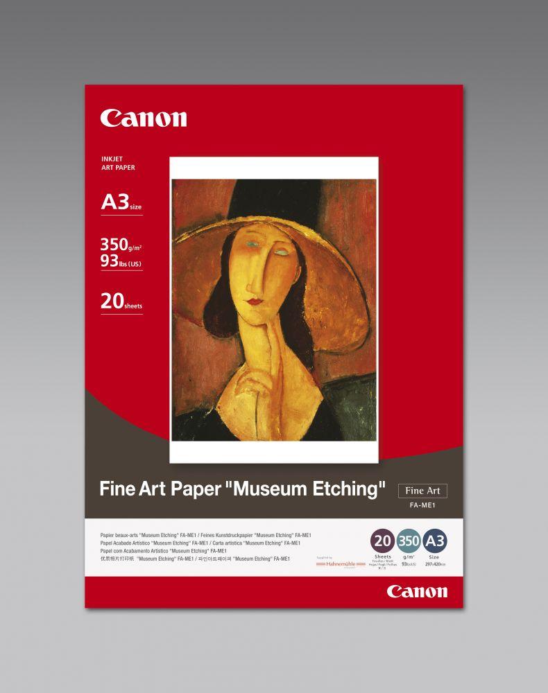 "Canon Fine Art Paper FA-ME1 (A3) ""Museum Etching"""