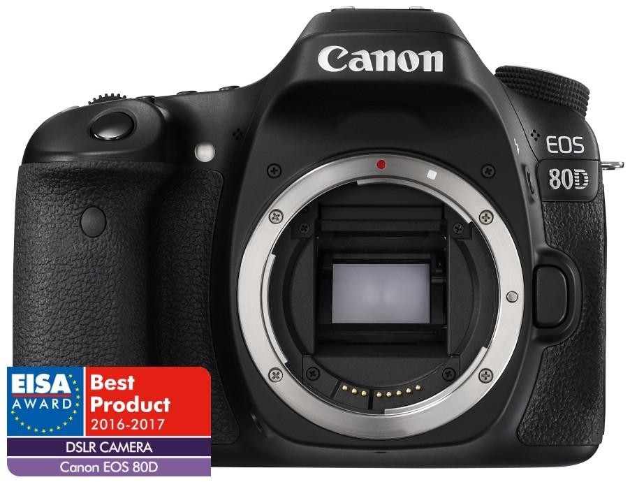 Canon EOS 80D váz (1+2 év Garancia*)