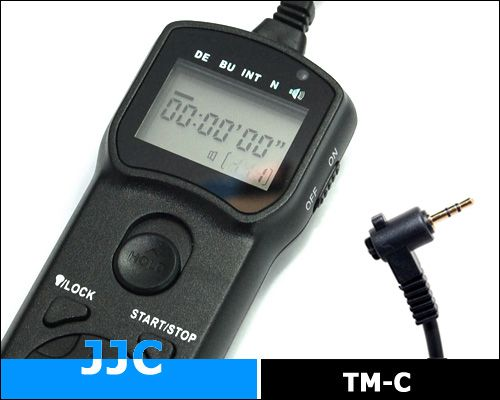 JJC TM-C multifunkciós vezetékes távkioldó (for Canon)