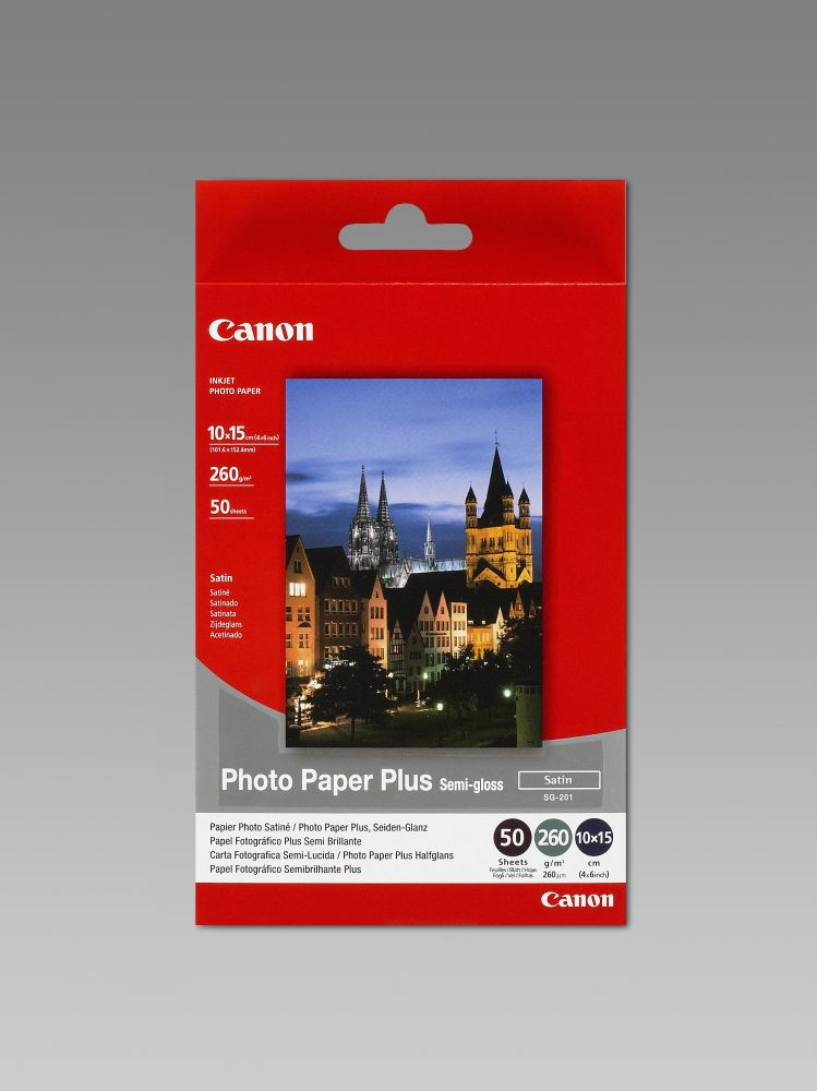 Canon Photo Paper Plus Semi-gloss SG-201 (10x15)