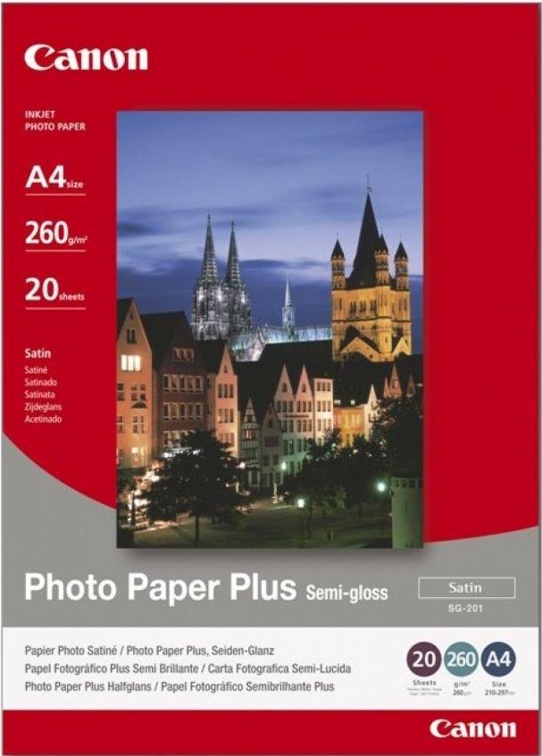 Canon Photo Paper Plus Semi-gloss A4 (SG-201)