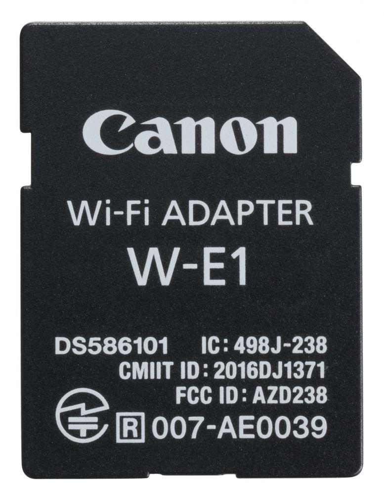 Canon W-E1 wifi adapter