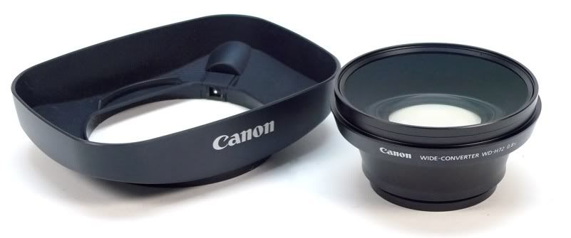 Canon WD-H72 (0.8x) Wide Angle Converter Lens