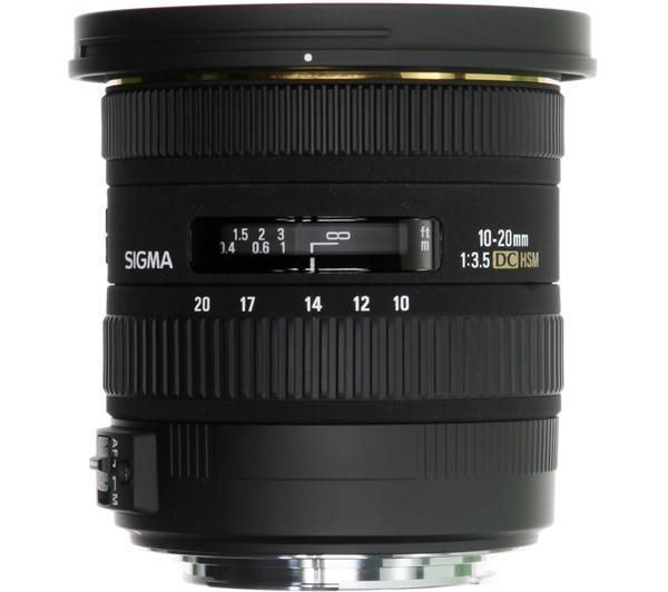 Sigma 10-20mm / 3,5 EX DC HSM (for Canon)
