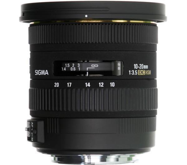 Sigma 10-20mm / 3,5 EX DC HSM (for Pentax)
