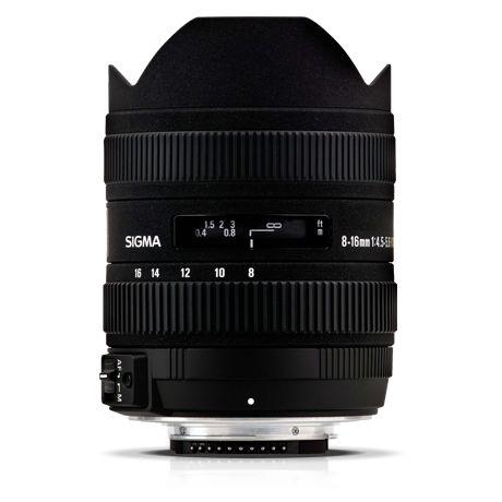 Sigma 8-16mm / 4.5-5.6 DC HSM - Nikon bajonettes