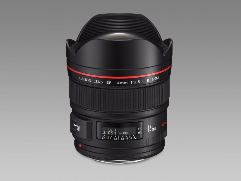 Canon EF 14mm / 2.8 L USM mark II