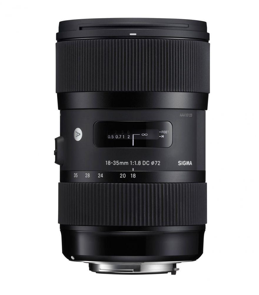 Sigma 18-35mm / 1.8 DC HSM Art - Nikon bajonettes