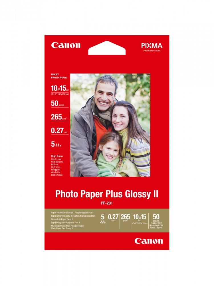 Canon Photo Paper Plus Glossy II PP-201 (10x15)