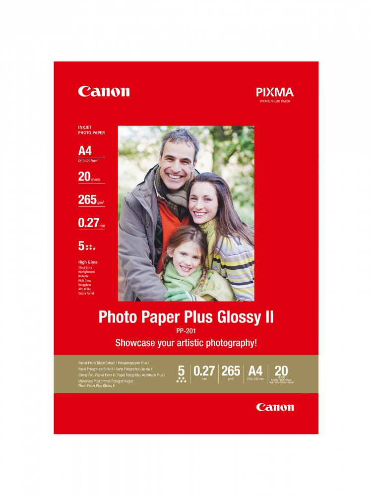 Canon Photo Paper Plus Glossy II PP-201 (A4)