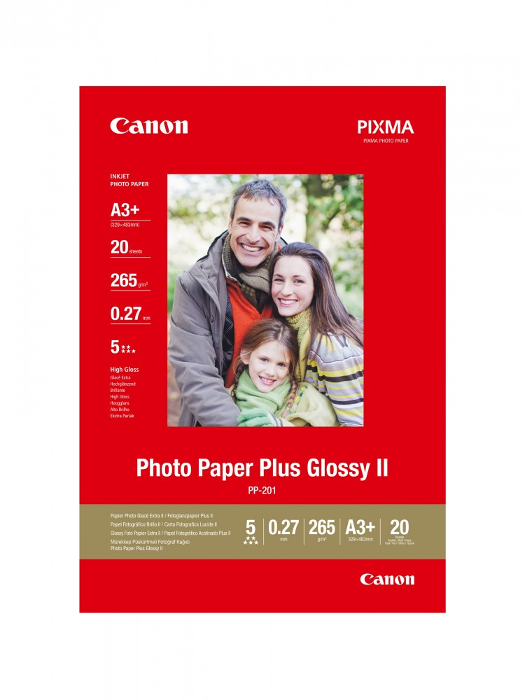 Canon Photo Paper Plus Glossy II PP-201 (A3+)