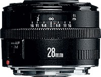 Canon EF 28mm / 2.8
