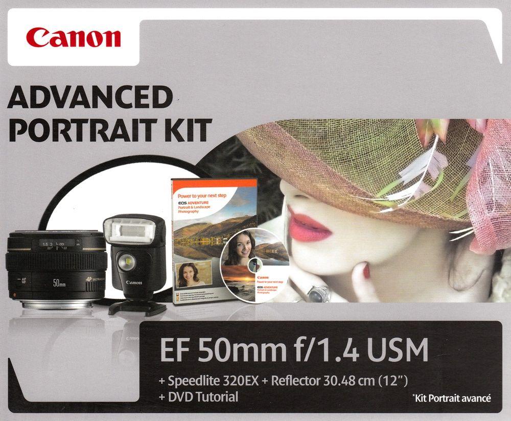 Canon EF 50mm / 1.4 USM Advanced Portrait KIT