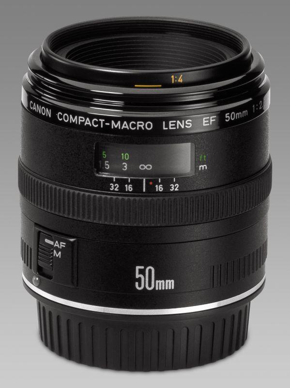Canon EF 50mm / 2.5 Compact Macro