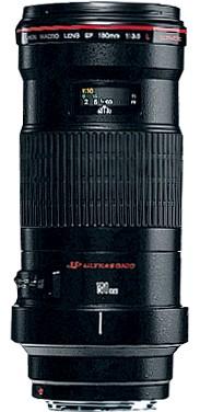 Canon EF 180mm / 3.5 L USM Macro - 3 év garanciával**