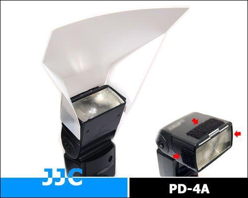 JJC tépőzáras vaku diffúzor (PD-4A)