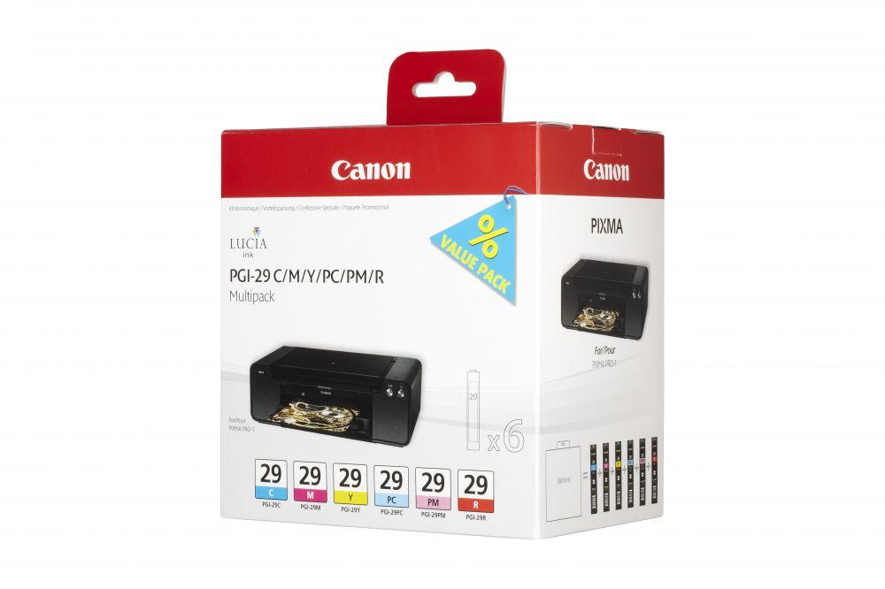 Canon PGI-29 C/M/Y/PC/PM/R
