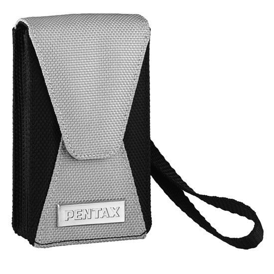 Pentax Nylon case NC-M1 (Black and Silver)