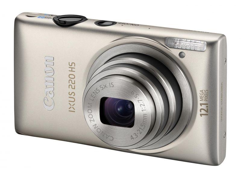 Canon Ixus 220HS (3 színben) (ezüst)
