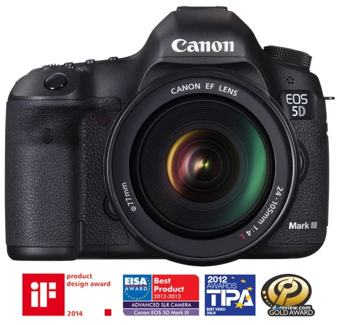 Canon EOS 5D mark III + EF 24-105mm / 4.0 L IS USM