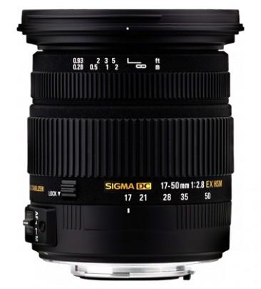 Sigma 17-50mm / 2.8 EX DC OS HSM (Canon)