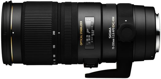 Sigma 70-200mm / 2.8 EX DG OS HSM (for Canon)