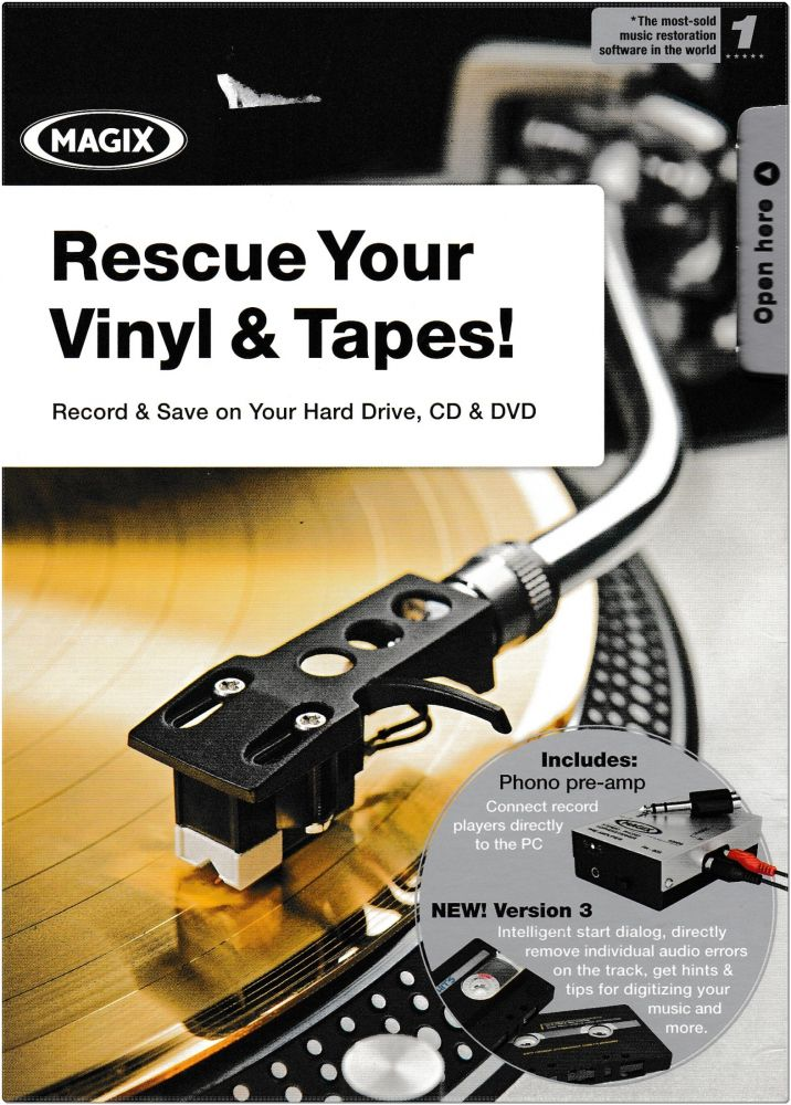 MAGIC Rescue Your Vinyl and Tapes!
