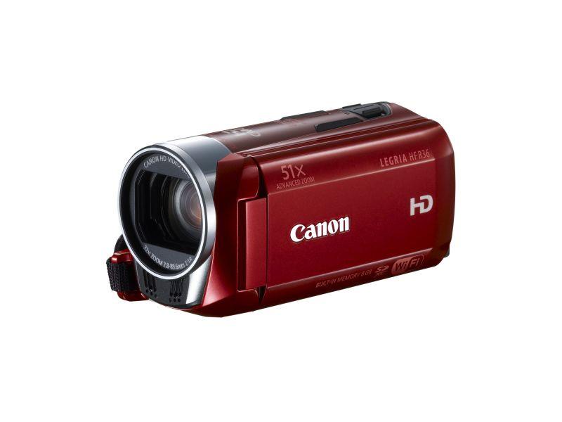 Canon LEGRIA HF R36 (Wi-Fi) (piros) (VUK)