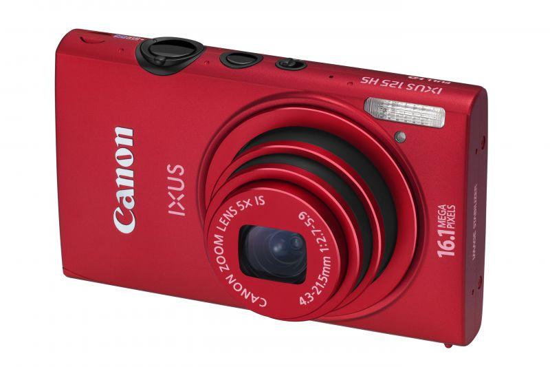 Canon Ixus 125HS (5 színben) (piros)
