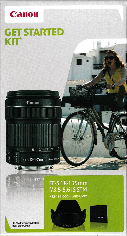 Canon EF-S 18-135mm / 3.5-5.6 IS STM (Started Kit)