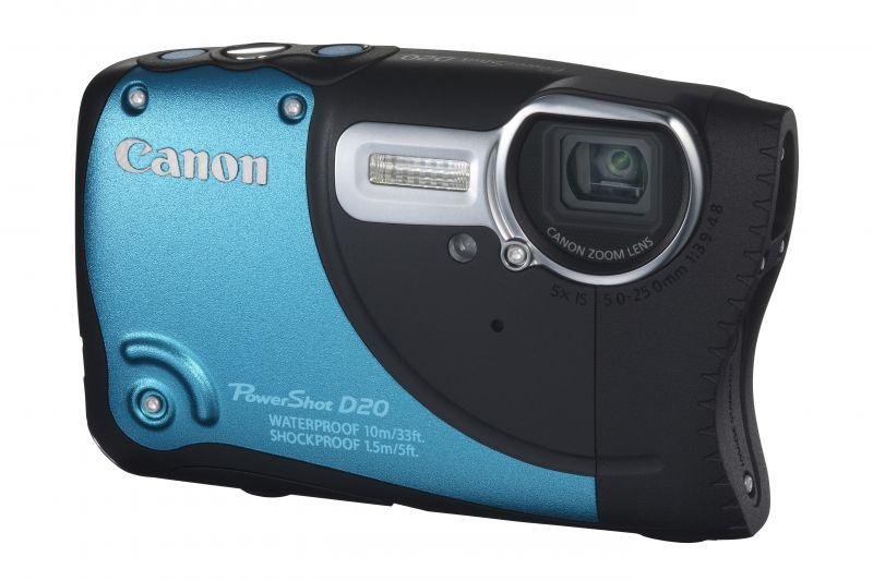 Canon PowerShot D20 (GPS) (3 színben) (kék)